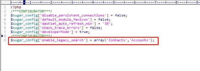 Suite CRM源码修改