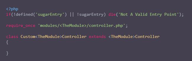 使用现有控制器为现有模块创建自定义控制器