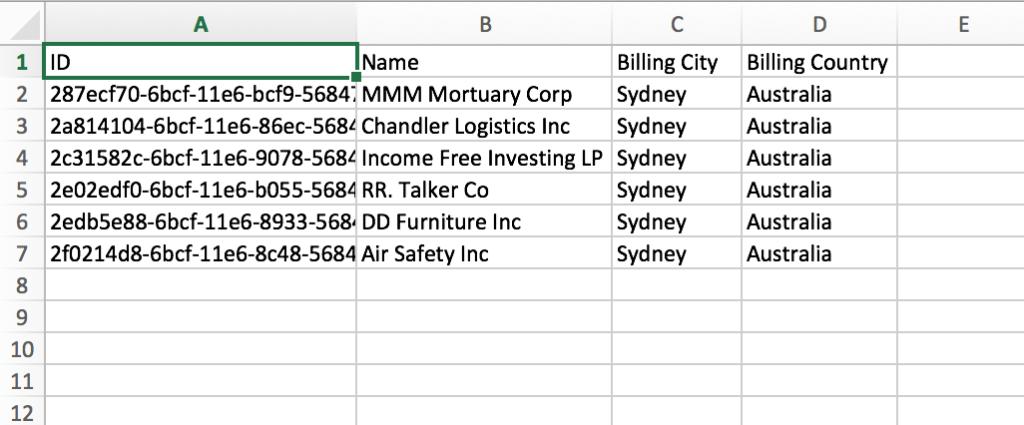 SuiteCRM导入数据