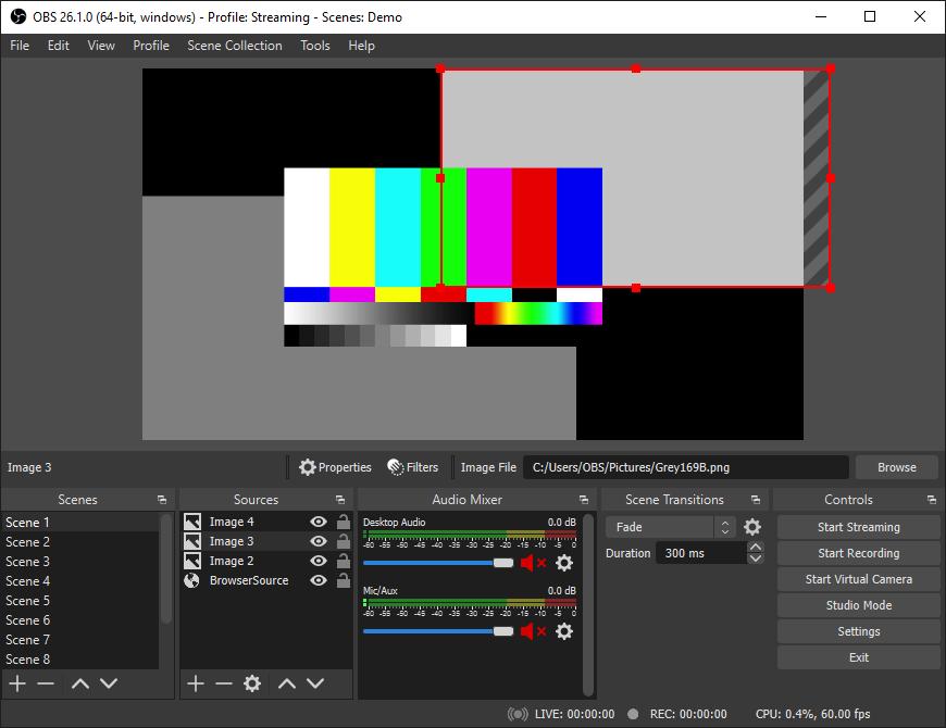 免费且开源的视频录制软件OBS